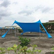 Beach sunshade tent