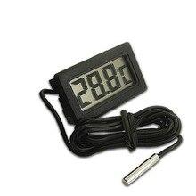Автомобильный интерьерный измеритель температуры, инструменты, цифровой ЖК-дисплей, термометр, датчик температуры, датчик температуры воды, автомобильные аксессуары