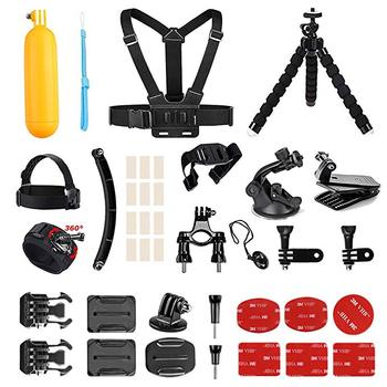 AKASO Outdoor Sports Action Camera Accessories Kit 14 in 1 for AKASO EK7000 Pro/Brave 4/ V50 Pro/ in Any Other Outdoor Sports