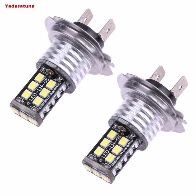 lampada h7 15 led cree 2835 chips 840 lumens moto hornet tenere -in