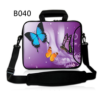 Butterfly Women Laptop Shoulder Bag 7 8 10 12 13 15 15 6 17 14 Computer