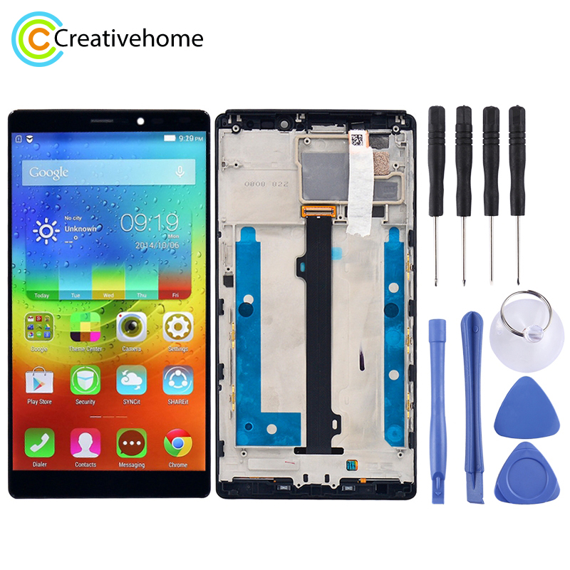 High Quality LCD Screen and Digitizer Full Assembly Lcd Replacement Glass with Frame For Lenovo Vibe Z2 Pro / K920High Quality LCD Screen and Digitizer Full Assembly Lcd Replacement Glass with Frame For Lenovo Vibe Z2 Pro / K920