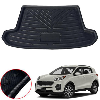 цена на Car Rear Trunk Cargo Mat Floor Liner Carpet Tray Pad For Kia Sportage QL 2016 2017 2018 Car-covers Styling Accessories