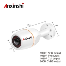 2.0MP 180Degree Fisheye HD AHD CameraIndoor Waterproof Bullet Safety outdoor CCTV Surveillance Camera LED Red Flashing Fre