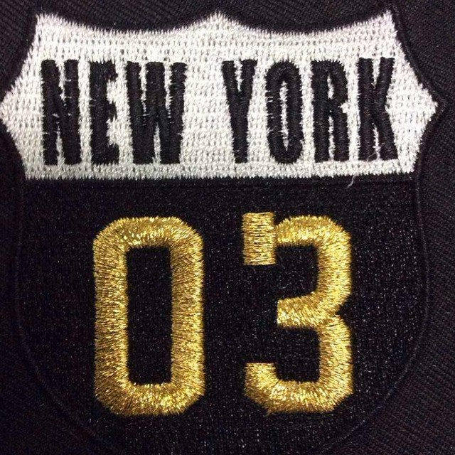 Bulk Wholesale Letters And Number Logo Design Embroidery Patch For