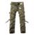 Calidad superior de los hombres militar de camo cargo pantalones pantalones de algodón de ocio cmbat overol de camuflaje 28-40 AYG69