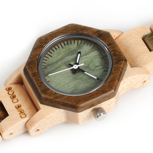 Image 4 - Bobo pássaro m25 feminino relógio de madeira movimento quartzo de luxo leve senhoras relógio de pulso relojes de mujer com caixa de presente