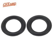 GHXAMP 2 pièces 2.5 pouce haut parleur mousse réparation accessoires haut parleur surround côté éponge bord latéral anneau cercle suspension