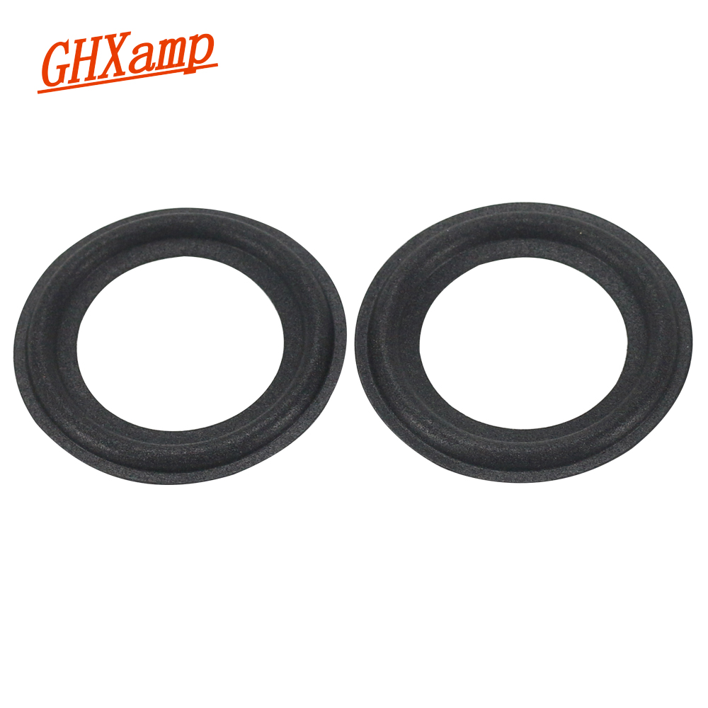 GHXAMP 2PCS 2.5 INCH Speaker Foam Repair Accessories Speaker Surround Side Sponge Side Edge Ring Circle Suspension