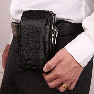 Image 5 - CHEZVOUS Cinghia Del Sacchetto Custodia In Pelle per iphone 7 8 6 x Clip da Cintura per Samsung S8 S7 S6 Classica Mobile gli Uomini del Pacchetto Della Vita del Sacchetto del telefono