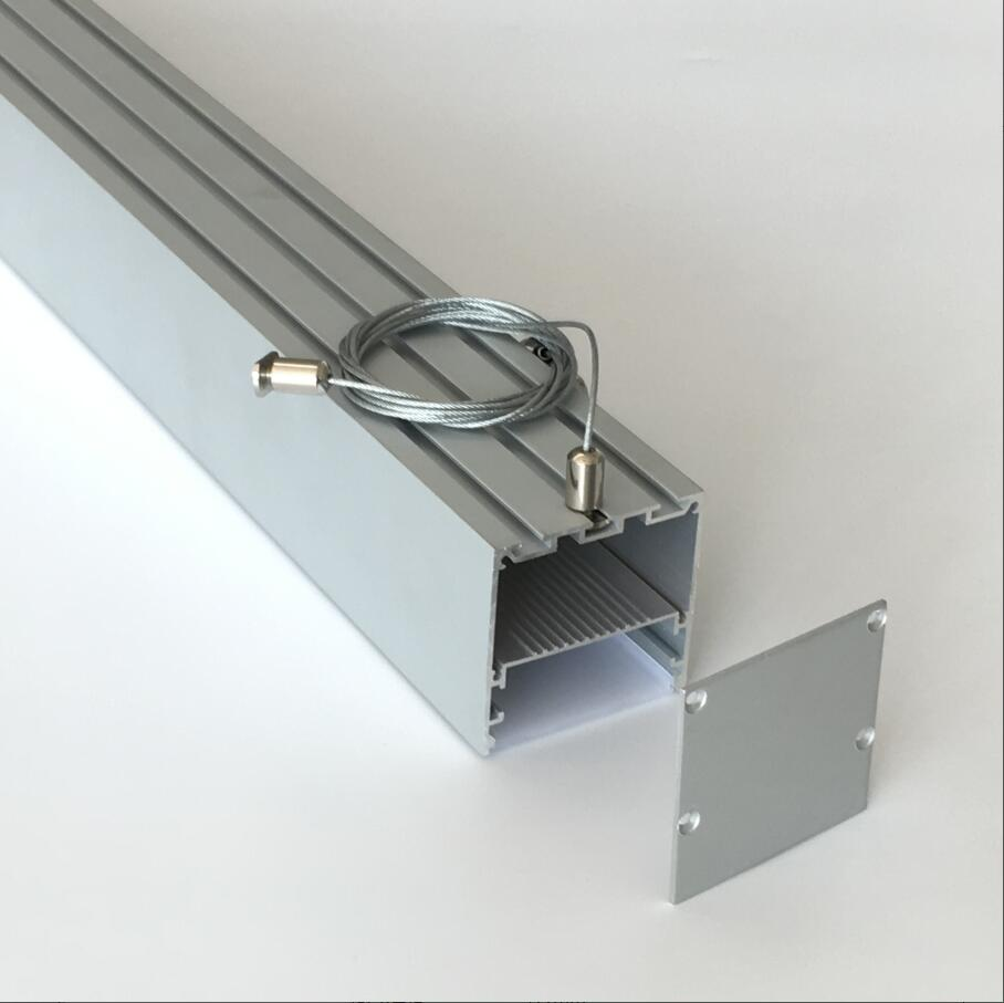 Us 526 3 Free Shipping Size Surface Mounted Aluminum Profile Led Channel Aliminyum For Ceiling Lighting In Bar Lights From