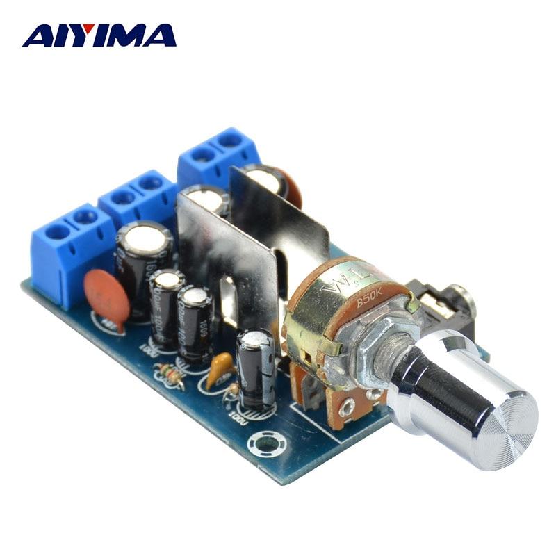 TEA2025B 2.0 Stereo Tube Amplifier Dual Channel Mini Audio Amplifiers Board For PC Speaker