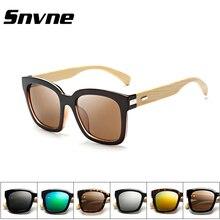 Snvne pierna bambú sunglases lentes oculos lunette de soleil gafas de sol feminino masculino hombre gafas de madera de las mujeres de la mujer masculina