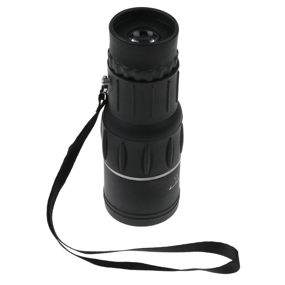 Image 3 - HD 16x52 Dual Focus Zoom Optical Night and Day Vision Monocular single Telescope Mini Portable Military Zoom Travel Hunting 5.29-in Monocular/Binoculars from Sports & Entertainment