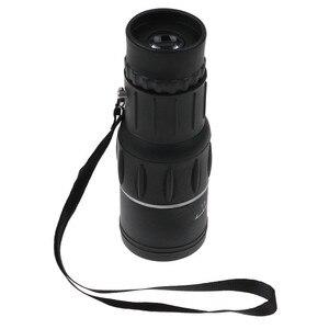Image 3 - HD 16x52 podwójny ostrości Zoom optyczny dzień i noc wizji monokularowy pojedynczy teleskop Mini przenośne wojskowe Zoom podróży polowanie 5.29