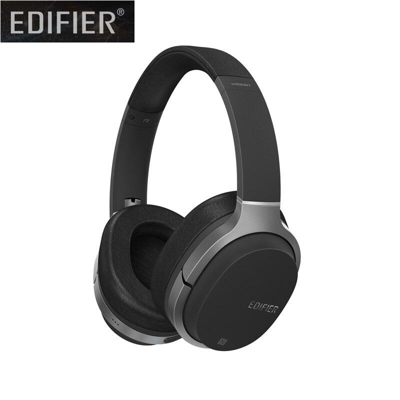 Edifier W830BT casque Bluetooth, casque sans fil sur l'oreille, casque Hi-Fi stéréo avec micro et télécommande pour téléphones, PC, Table