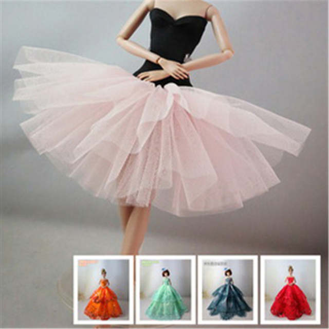 7699770e8373a One Piece Wedding Dress Party Gown Princess Cute Outfit Clothes For Girl  Doll Girls' Gift Baby Toys Newest