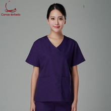 Korean version of men and women doctors service brush hand service operating room isolation clothing surgical clothing цена 2017