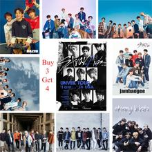 Stray Kids Kpop Posters Clear Image Bedroom Decoration Home Art Brand