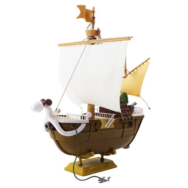 26 cm One Piece Đi Vui Vẻ Monkey D Luffy Pirate Ship Thuyền Mũ Rơm Đại Ship PVC Hành Động Hình Sưu Tập mô hình Đồ Chơi