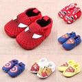 cute baby Shoes newborn boys girls cotton spring autumn cartoon animal superman spider-man Soft elastic non-slip first walkers