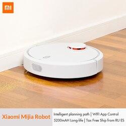 מקורי XIAOMI Mijia Mi רובוט שואב אבק לבית אוטומטי גורף אבק לעקר חכם מתוכנן נייד App שלט