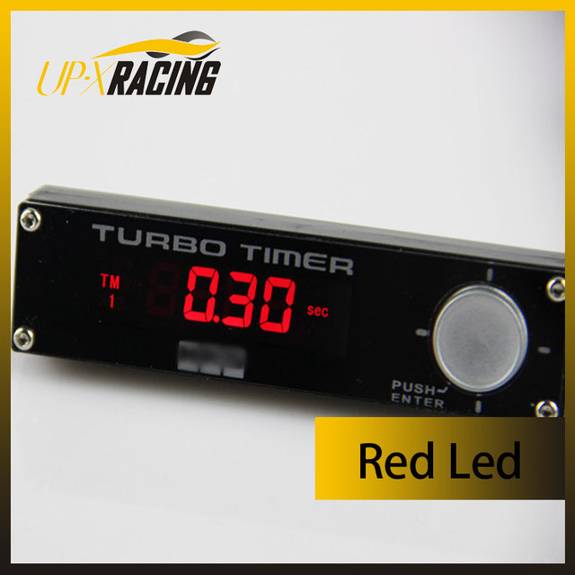 High performance racing parts universal auto cooling timer digital turbo Timer type0  red led  turbo timer