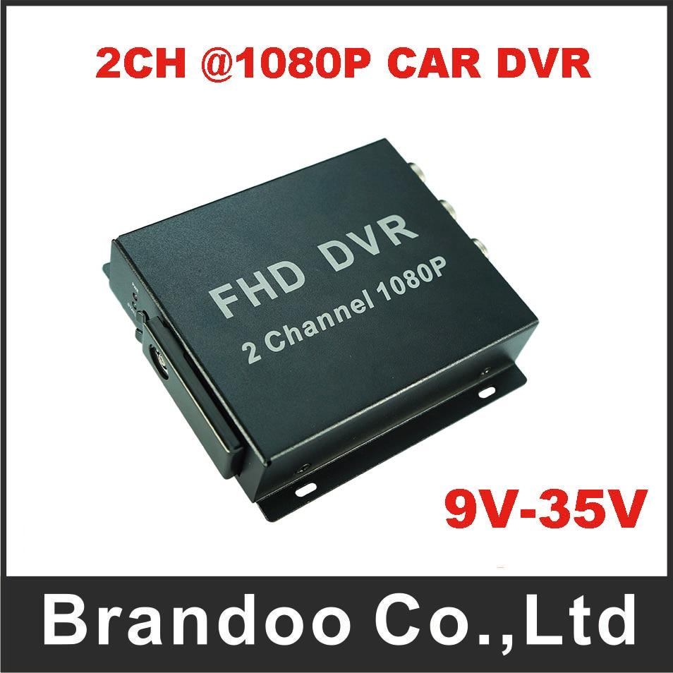 все цены на 2CH 1080P Full HD mobile DVR,support Max. 128GB SD card