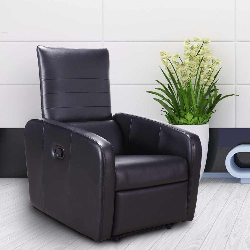Giantex Manual Recliner Sofa Chair Contemporary Foldable ...