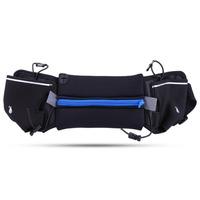 Outdoor   Running   Waist Bag Phone Pouch Kettle Holder Double Water Bottle Pack Marathon Pocket Waist Belt Band Adjustable