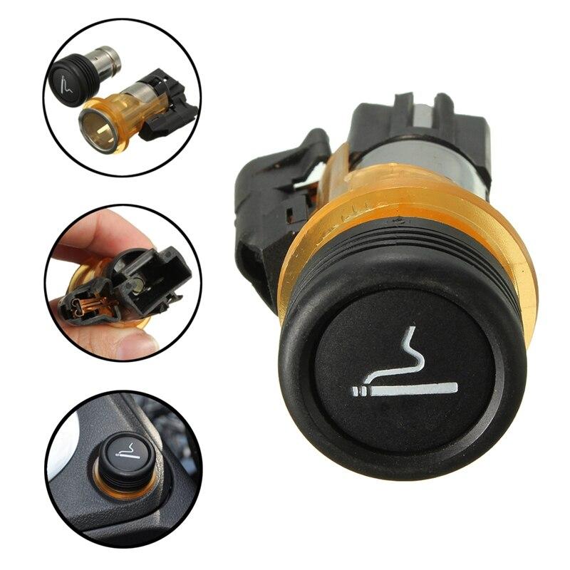 12V Car Cigarette Lighter Housing Cig Socket For Peugeot CC SW 206 308 406 607 1007