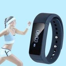 I5 Plus Armband SmartWatch Bluetooth 4,0 Armband Für Gesundheit Schrittzähler Blau