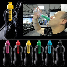 2016 High Quality 550mL Outdoor Water Bottles Bobble Hydration Filter Bottle Hiking Gym Filtered Drinking Sports Free Shipping