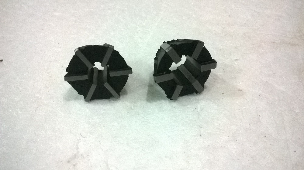 Free shipping 2PCS Rubber Flex collets for Reversible tapping chuck type J467 1 J467 2