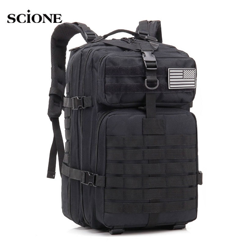 Military Tactical Assault Pack Backpack Army Molle Waterproof Bug Out Bag Rucksack for Outdoor Hiking Camping Hunting XA498WA 2018 hot a military tactical assault pack backpack army molle waterproof bag small rucksack for outdoor hiking camping hunting