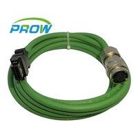 for MITSUBISHI servo Encoder wire drive Signal cable MR J3ENSCBL3M H MR J3ENSCBL10M H MR J3ENSCBL3M 10M 10p 10pin AG