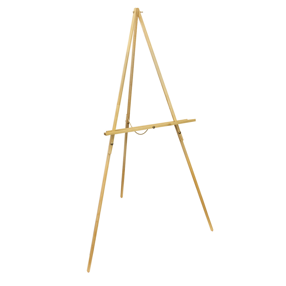 Portable Wood Tripod Stand Easel For Artist Painting Easel Stand Art Display Easel For Paintings adjustable portable easel for painting aluminium metal easel stand with paper holding 4k easel board