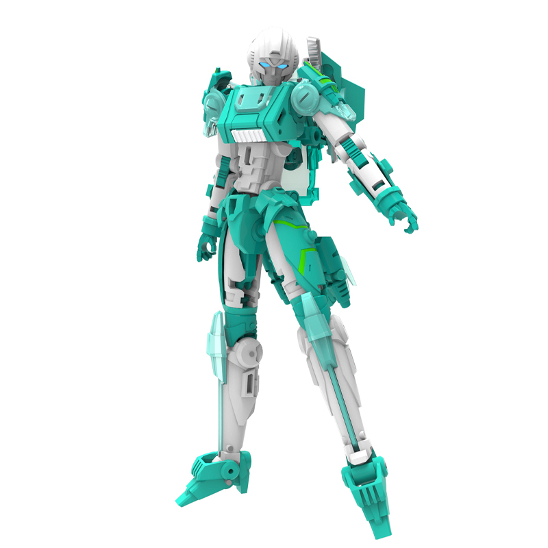 ФОТО (IN STOCK)  Toy MMC Mastermind Creations Reformatted R-08Z IDW Azalea the Avenger(Green)