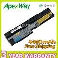 Apexway batería del ordenador portátil para lenovo ideapad s10-3 s205 u160 u165 57y6442 l09c3z14 l09c6y14 l09m3z14 l09m6y14 l09m6z14 l09s3z14