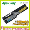 Apexway bateria do portátil para lenovo ideapad s10-3 s205 u160 u165 57y6442 l09c3z14 l09c6y14 l09m3z14 l09m6y14 l09m6z14 l09s3z14