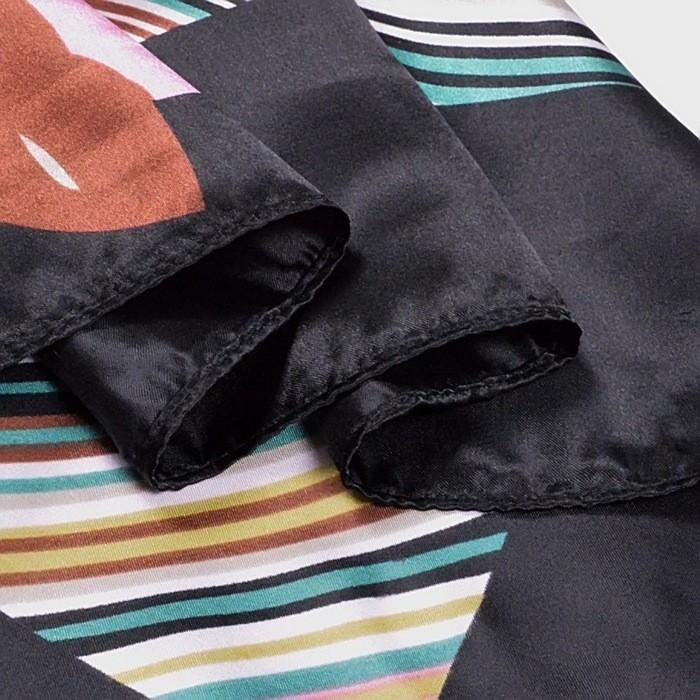 Garden Square Silky Scarf | Lightweight Scarves