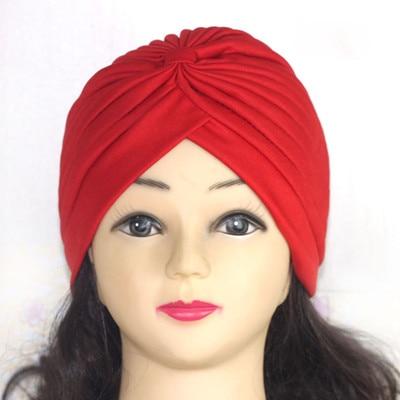 Хиджаб шарф тюрбан шапка s мусульманский головной платок Защита от солнца Кепка Женская хлопковая мусульманская многофункциональная тюрбан платок femme musulman - Цвет: 1