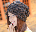chemo turban cap head wrap bonnet inner lace hat back close 4 colors free ship