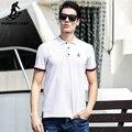 Pioneer Camp 2017 Повседневная Белый Polo Shirt Лето Polo Homme 100% Хлопок Марка Одежды Мягкие Мужчины Футболка Большой и Высокий 620305