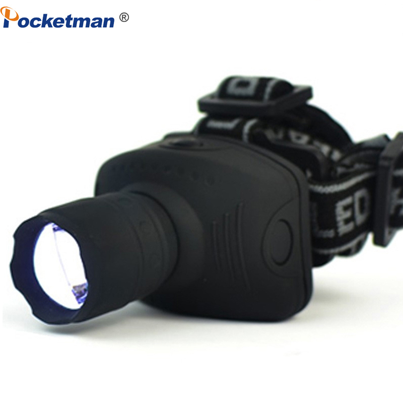 2000Lumen Mini LED Headlamp 3Mode Zoomable Waterproof Headlight Head Flashlight Torch Lanterna For Outdoor Camping Night Fishing