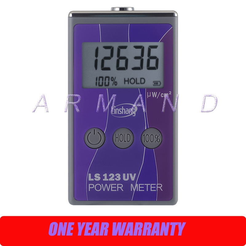 UV power meter Intensity Meter LS123 Ultraviolet transmittance measurement UV radiation luminance ta8123 light meter digital photometer luminance meter intensity measurement test instrument 0 1 100000lux