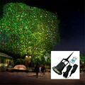 Outdoor Lawn Light Full Sky Star Laser Projector Shower Lamp Outdoor Red&Green LED Stage Light For Christmas Party Landscape