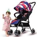 Carrinhos de bebê pode sentar pode ser dobrado ultra-portátil portátil de alta paisagem carrinho