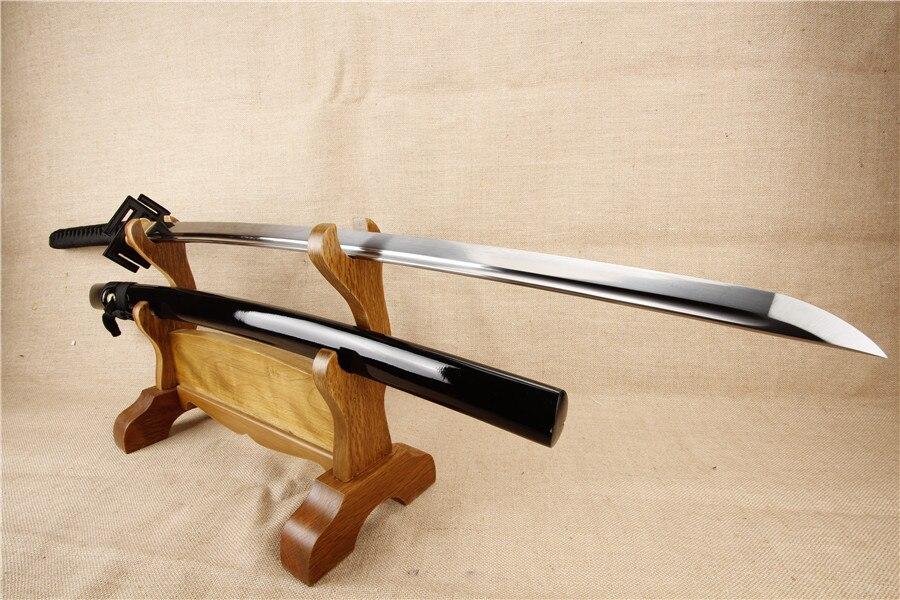 BLEACH Kurosaki cosplay katana samurai japanese sword real katana 1060 carbon steel alloy tsuba BLEACH Kurosaki cosplay katana samurai japanese sword real katana 1060 carbon steel alloy tsuba