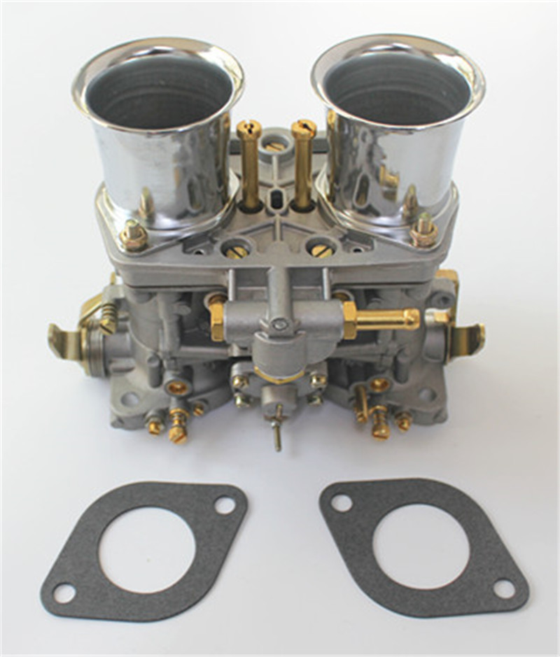 40 Idf 40idf 40mm Carburetor With Air Horns Gasket For Bug/beetle/vw/fiat/porsche Replece For Solex Dellorto Weber Empi new 44 idf 44idf carburettor carby replacement for solex dellorto weber empi carby
